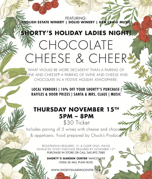 Shorty's Holiday Ladies Night